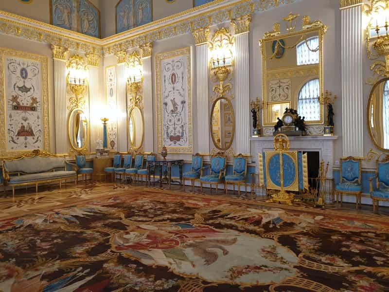 Salas en el Palacio de Catalina