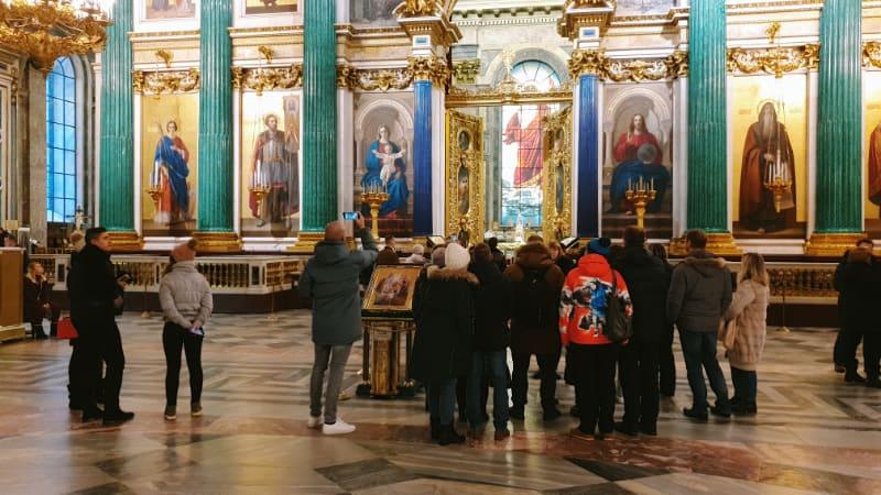 excursión a La Catedral de San Isaac